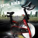 จักรยานปั่น Spin Bike รุ่น 9011S-W น้ำหนักจาน 15kg