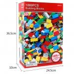 3D052 ตัวต่ออิสระ คละแบบ คละสี 1,000 ชิ้นในกล่องกระดาษสีแดง