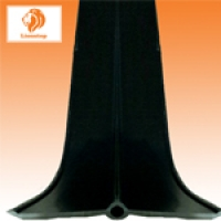 PVC วอเตอร์สต๊อป A8b 8 นิ้ว 3 ปุ่ม หนา 9.5 มม.(25 เมตร)