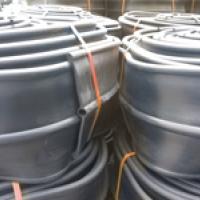 PVC วอเตอร์สต๊อป A9a 9 นิ้ว 3 ปุ่ม หนา 5 มม.(25 เมตร)