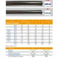 Stainless steel flexible conduit