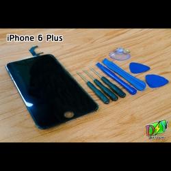 หน้าจอ iPhone 6 Plus พร้อมชุดอุปกรณ์เปลี่ยนหน้าจอ