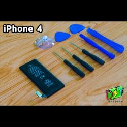แบตเตอรี่ iPhone 4 (OEM) พร้อมชุดอุปกรณ์เปลี่ยน