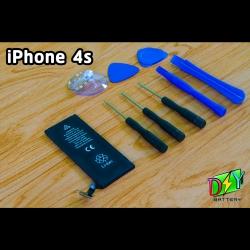 แบตเตอรี่ iPhone 4s (OEM) พร้อมชุดอุปกรณ์เปลี่ยน