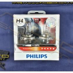 หลอดไฟหน้า: Philips X-tremeVision (+100%)