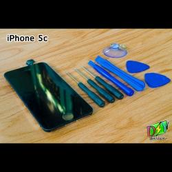 หน้าจอ iPhone 5c พร้อมชุดอุปกรณ์เปลี่ยนหน้าจอ