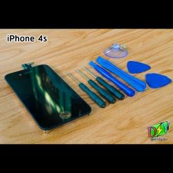 หน้าจอ iPhone 4s พร้อมชุดอุปกรณ์เปลี่ยนหน้าจอ
