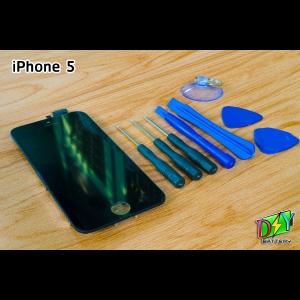 หน้าจอ iPhone 5 พร้อมชุดอุปกรณ์เปลี่ยนหน้าจอ