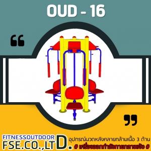 OUD-16 อุปกรณ์นวดหลังคลายกล้ามเนื้อ 3 ด้าน