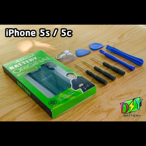 แบตเตอรี่ iPhone 5s/5c (ยี่ห้อ Nphone) พร้อมชุดอุปกรณ์เปลี่ยน