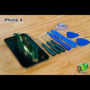 หน้าจอ iPhone 4 พร้อมชุดอุปกรณ์เปลี่ยนหน้าจอ