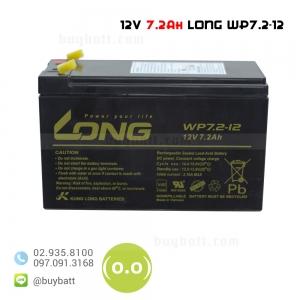 แบตเตอรี่แห้ง 12V 7.2Ah LONG SLA BATTERY WP7.2-12 ลูกละ 520 บาท