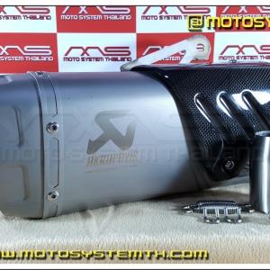 ปลายท่อ AK-R1 พร้อมสลิป / Muffler model AK-R1 with Slip-on