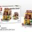 SD6074 Mini Street ของเล่นตัวต่อร้านขายฮอตด็อก Hot dog thumbnail 1