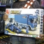 M38-B0357 ของเล่นตัวต่อรถแข่ง F1 กับรถบรรทุก Blue Lightning และทีมช่าง thumbnail 1