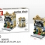 SD6072 Mini Street ของเล่นตัวต่อร้านขายเสื้อเชิ้ต Polo thumbnail 1