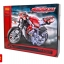 3353 ตัวต่อ Technic รถ Motorcycle Exploiture ทรงเนคสีแดง Naked Bike thumbnail 1