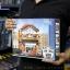 657013 Mini City StreetScape ของเล่นตัวต่อสถานีรถราง Railway Station thumbnail 1