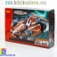 3412 ตัวต่อ King Steerer รถแข่ง Dazzling Red Racing Car thumbnail 1