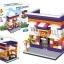 657009 Mini City StreetScape ของเล่นตัวต่อร้านพิซซ่า Pizza Shop thumbnail 1