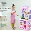 ครัวสีพาสเทล Pastel kitchen set น้ำไหลได้จริง ส่งฟรีพัสดุไปรษณีย์