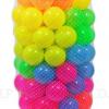ลูกบอลหลากสีแบบใส 100 ลูก ขนาด 3 นิ้ว ส่งฟรี