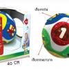 Learning ball บอลชวนคลานงานน่ารักสุด ๆ มีเสียงมีไฟ ส่งฟรีพัสดุไปรษณีย์