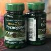 Puritan's Pride Pycnogenol 60 mg / 30 Capsules เป็นสารที่ได้จากเปลือกสนมาริไทม์ฝรั่งเศส อุดมไปด้วย procyanidin หลายชนิด ต้านอนุมูลอิสระที่มีประสิทธิภาพสูง ปกป้องเซลล์ของร่างกายจากการถูกทำลายโดยอนุมูลอิสระ - ช่วยทำให้ฝ้า กระ ดูจางลง หน้าดูกระจ่างใสขึ้