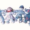 SKK-01 ตุ๊กตา พ่อ แม่ ลูก ชุดละ 4 ตัว