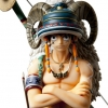 Luffy DPCF ของแท้ JP - Door Painting Collection Figure Plex [โมเดลวันพีช] (Super Rare)