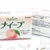 Naive Natural Soap Peach 90g. สบู่ก้อนกลิ่นพีชหอมหวาน ช่วยทำความสะอาดผิวกาย ให้กลิ่นหอมนานสดชื่น ด้วยส่วนประกอบจากธรรมชาติ 100% และสารสกัดจากลูกพีช ช่วยทำความสะอาดสิ่งสกปรกตามผิวกาย และ ช่วยให้ผิวเนียนนุ่มชุ่มชื่น น่าสัมผัส พร้อมให้กลิ่นหอมหวาน อ่อนๆของกล