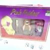 Nicki Minaj Pink Friday Perfume Gift Set (3 Pcs.) น้ำหอมนักร้องดัง นิคกี้ มินาร์จ ชุด ประกอบด้วย 3 ชิ้น 1. น้ำหอม 30 ml 2. น้ำหอมมินิ 5 ml 3. บอดี้โลชั่น 50 ml