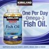 Omgea 3 Fish Oil Kirkland กระปุกใหญ่บำรุงสมอง ประสาท และหัวใจ 1,200 mg 180 เม็ด ผสม DHA EPA ช่วยบำรุงสมอง และ ส่งเสริมด้านความจำ
