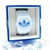 นาฬิกาข้อมือ adidas Watches (นาฬิกา อาดิดาส) รุ่น ADH2704 เรือนสีขาว โลโก้สีฟ้า 42 mm UNISEX ใส่ได้ทั้งชายหญิง สายพลาสติกเรซิ่น ที่ญี่ปุ่นสีนี้ฮิตมาก สีขาว มากับกล่อง Adidas สีน้ำเงิน เรือนขาว โลโก้สีฟ้า เรือนจริง สวยมาก