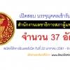 เปิดสอบ สำนักงานเลขาธิการสภาผู้แทนราษฎร จำนวน 37 อัตรา วันที่ 22 ม.ค. - 9 ก.พ.2561