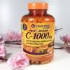 ผิวสวย สร้างได้ Vitamin World ไวตามินเวริ์ลด์ อาหารเสริม ชื่อดังอันดับต้น ๆ ในอเมริกา แบบ ขนาด 250 เม็ด Vitamin C-1000 mg with Bioflavonoids and Wild Rose Hips 250 Caplets TIMED RELEASE วิตตามินซีที่สังเคราะห์จากวัตถุดิบธรรมชาติ ชนิดไม่ต้องค้าง ดูดซึมไว บ