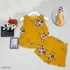 เสื้อแขนกุดพิมพ์ลายดอกไม้+กางเกง รายละเอียดสินค้า เสื้อแขนกุดคอกลมผ้าหนังกบพิมพ์ลายดอกไม้มีซับในทั้งตัว ชายแต่งระบายอ่อนๆ 2 ชั้น งานใส่ชิลๆสบายๆ ผ้านิ่มๆไม่ร้อน ไม่คันจัาาา ใส่คู่กับกางเกงขาสั้นผ้าเดียวกัน เอวยืดรอบตัว อีกชุดลำลองที่หยิบใส่ได้บ่อยๆ มีไว้เ