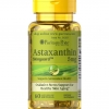 Puritan's Pride Astaxanthin 5 mg 60 Softgels แอสตาแซนธิน สุดยอดอาหารเสริม ต้านอนุมูลอิสระ ปกป้องผิวจากแสงแดด บำรุงผิวอ่อนกว่าวัย ถนอมและบำรุงสายตาสำหรับผู้ที่ใช้สายตาเป็นประจำหรือผู้สูงอายุ แอสตาแซนธิน สุดยอดอาหารเสริม ต้านอนุมูลอิสระ ปกป้องผิวจากแสง
