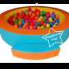 EVB-02-1 บ่อบอลกลมใหญ่ พร้อมลูกบอล 1000 ลูก