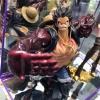 Luffy Gear 4 Ver. Special Color ของแท้ JP แมวทอง - Scultures Banpresto [โมเดลวันพีช]