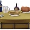 Shibukai Table ของแท้ JP แมวทอง - WCF Banpresto Ichiban Kuji [โมเดลวันพีช] โต๊ะ