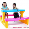 PPTC-003 ชุดโต๊ะปิคนิคเลิฟลี่ (Lovely Picnic Table)