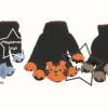 SKK-36 หุ่นถุงมือสัตว์ป่า 1 ชุด มี 3 ชิ้น