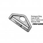 """Pentagon Ring 2"""""""