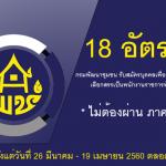 เปิดสอบ กรมการพัฒนาชุมชน จำนวน 18 อัตรา วันที่ 26 มี.ค. - 19 เม.ย. 2561