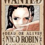 Robin Wanted - Jigsaw One Piece ของแท้ JP (จิ๊กซอว์วันพีช)