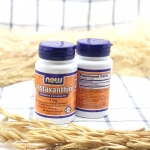 Now Foods Astaxanthin Cellular Protection ปริมาณ 4 mg บรรจุขนาด 60 Softgels สารต้านอนุมูลอิสระคุณภาพดี บำรุงสายตา ชะลอความเสื่อมของดวงตา ช่วยชะลอวัยลดริ้วรอย อาหารเสริมเพื่อสุขภาพและผิวพรรณ :: Astaxanthin (แอสตาแซนธิน) :: + เป็นสารต้านอนุมูลอิสระ (Antioxi