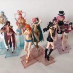 Girls Selection Set ของแท้ JP แมวทอง - Girls Selection Bandai [โมเดลวันพีช] (Rare) 9 ตัว