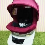 คาร์ซีทมือสอง Ailebebe Kurutto NT2 Premium สีชมพู สภาพสวย
