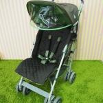 รถเข็นเด็กมือสอง Maclaren รุ่น Techno สีเทา เขียว